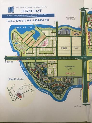 Cần tiền xây nhà bán gấp nền biệt thự 200m2 dự án 13E Intresco đường 12m, giá rẻ ảnh 0