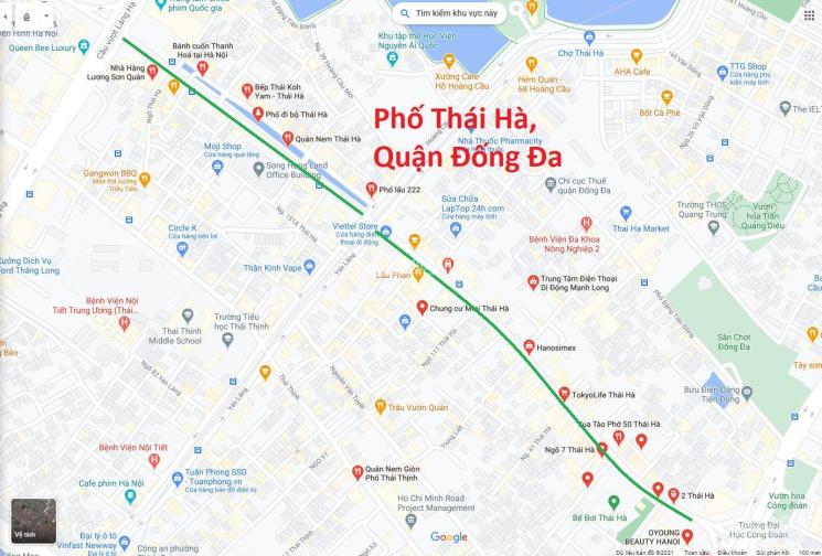 Độc quyền bán nhà mặt phố Thái Hà 26 tỷ, 110m2, mặt tiền 8m ảnh 0