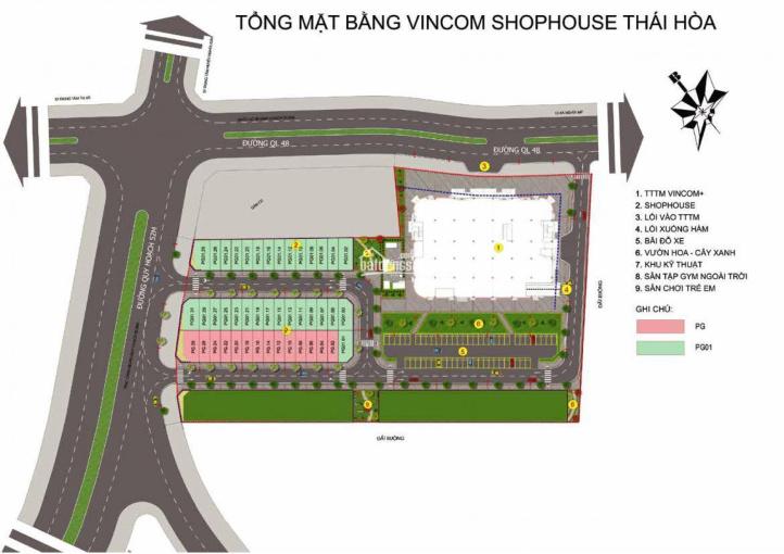 Vincom Thái Hòa - Nghệ An, sản phẩm sinh lời với giá đầu tư vô cùng tốt chuẩn bị mở bán ảnh 0