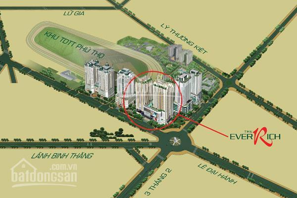 Bán chung cư The Everich I, Lotte Mart, Quận 11, 4.5 tỷ, 116m2, 0792644108 Minh Lê ảnh 0