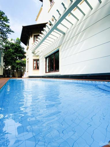 Biệt thự khu Compound bờ sông P. Bình An, 2 lầu, 4 phòng, 5WC, hồ bơi, 81 triệu, LH: 0933.745.397 ảnh 0