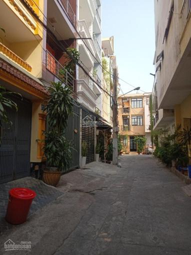 Bán nhà HXH chợ thuốc Nguyễn Giản Thanh, Q10, 4 x 16m, 4 tầng, 12.5 tỷ ảnh 0