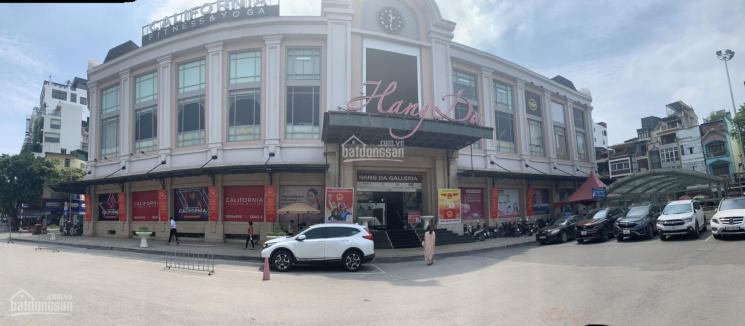Cho thuê MBKD tại trung tâm thương mại chợ Hàng Da, Hoàn Kiếm 1100m2 ảnh 0