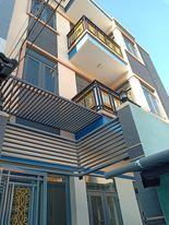 Bán nhà Tân Phú, ngang 8m, 4 tầng, hẻm rộng, 64m2, nhỉnh 6 tỷ ảnh 0