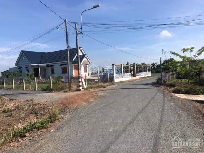 Đất liền kề ủy ban Đức Hòa Đông, 125m2, 5x25, giá 720tr, (SHR) xây tự do. 0703143901 ảnh 0
