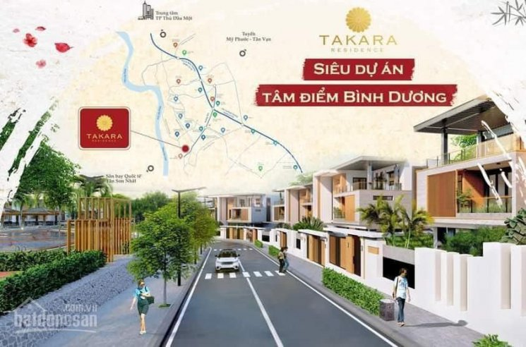 Mở bán 20 căn Biệt thự đơn lập Takara trung tâm Chánh Nghĩa, Thủ Dầu Một, Bình Dương ảnh 0