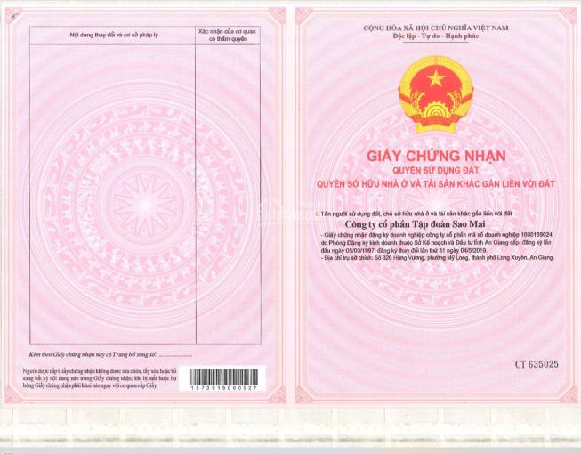 Độc quyền quỹ hàng hoa hậu KĐT Sao Mai - Triệu Sơn - có sổ đỏ - cam kết giá rẻ nhất thị trường ảnh 0