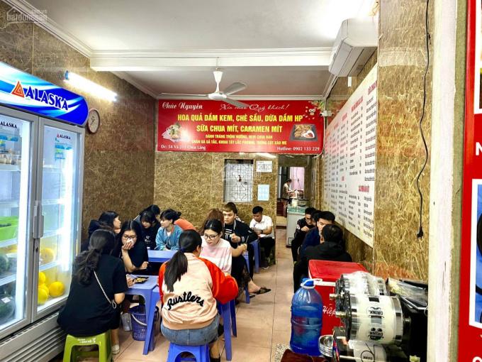 Bán gấp nhà mặt phố Chùa Láng 85m2 x 17tỷ, kinh doanh siêu lợi nhuận DT 150tr - 200tr/ tháng ảnh 0