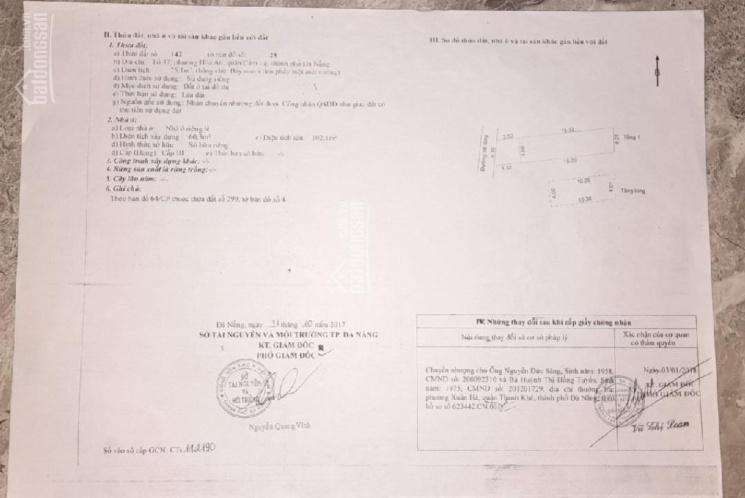 Chính chủ cần bán nhà 400/6 Trường Chinh, Cẩm Lệ, Đà Nẵng, hướng Nam. Giá 2,3 tỷ, DT 75m2 ảnh 0