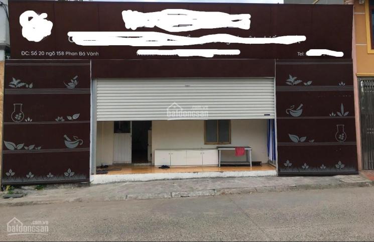 Cho thuê nhà gần mặt phố Phan Bá Vành, mặt tiền 9m ảnh 0