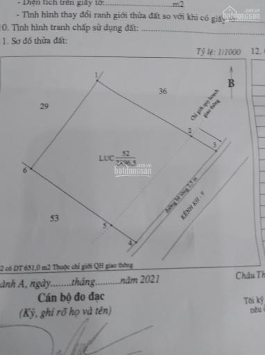 Cần bán đất ruộng chưa qua đầu tư cách Uỷ ban Nhân dân xã Trường Long Tây 200m H.Châu Thành A, T.HG ảnh 0