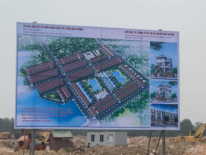 Quỹ lô đẹp nhất dự án đất nền liền kề, biệt thự KĐT mới Bích Động, Việt Yến, BG. LH: 0968.470.456 ảnh 0