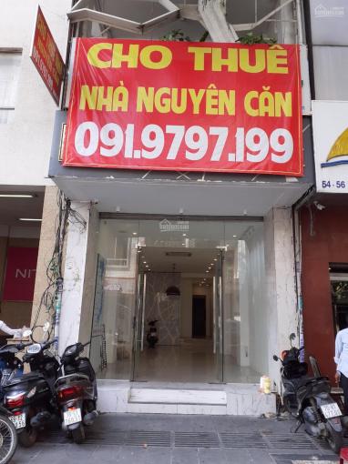 Cho thuê mặt bằng kinh doanh hoặc nhà nguyên căn 58 Mạc Thị Bưởi Quận 1. LH: Mr Thành 0919797199 ảnh 0