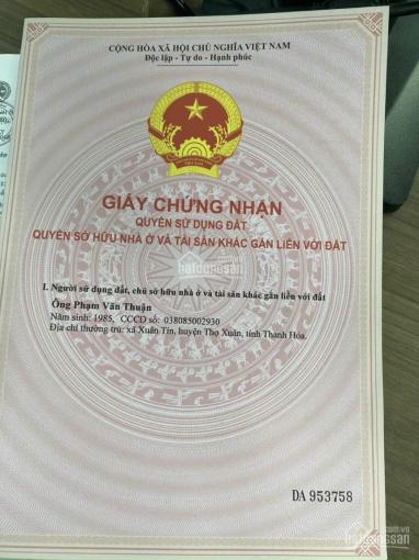 Vì kẹt tiền sang lại lô đất gần với Đại Học Việt Đức 80m2, SHR, TC 100% ảnh 0