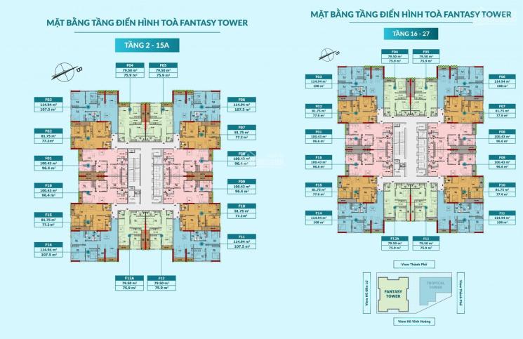 Bán căn chung cư 3 ngủ 96m2 quận Hoàng Mai view hồ Đền Lừ, dự án Feliz Homes, 0963392830 ảnh 0
