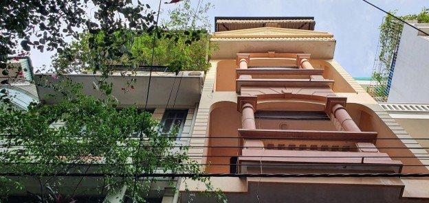 Cho thuê nhà ngõ 12 Quang Trung, Hà Đông diện tích 45m2 x 6 tầng, MT 4,5m thông sàn, giá 15 tr/th ảnh 0