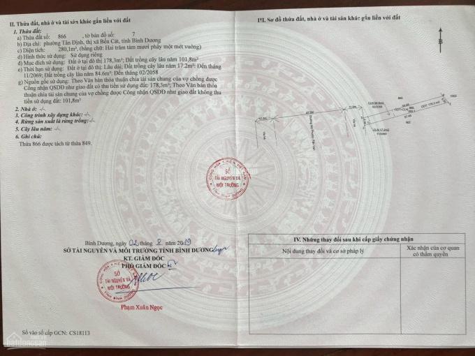 Chính chủ gửi bán đất Mỹ Phước Tân Vạn giá 14tr/m2 ảnh 0