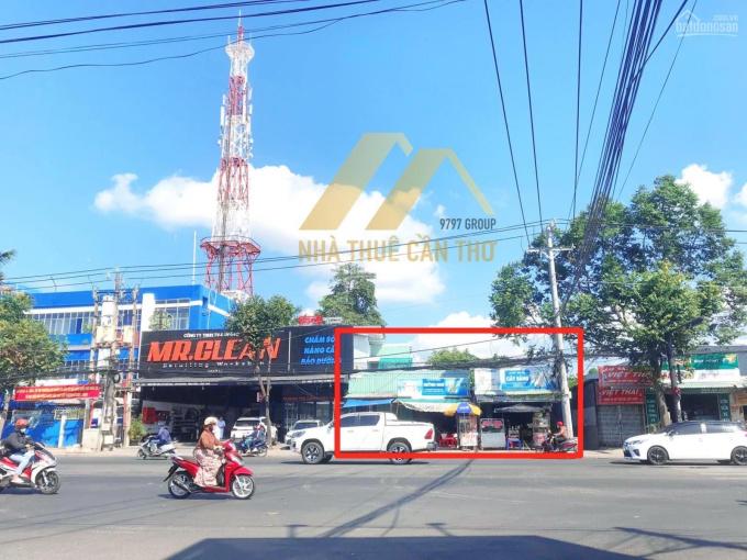 Cho thuê nền trống mặt tiền Nguyễn Văn Cừ nối dài (không dính lươn) ngang 8m xây dựng tự do ảnh 0