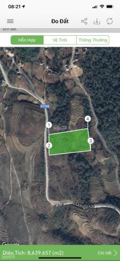 Mảnh đất 50m mặt đường ĐT 158 thuộc thôn Mò Phú Chải. Diện tích khoảng gần 5000m2 nền đất đẹp ảnh 0