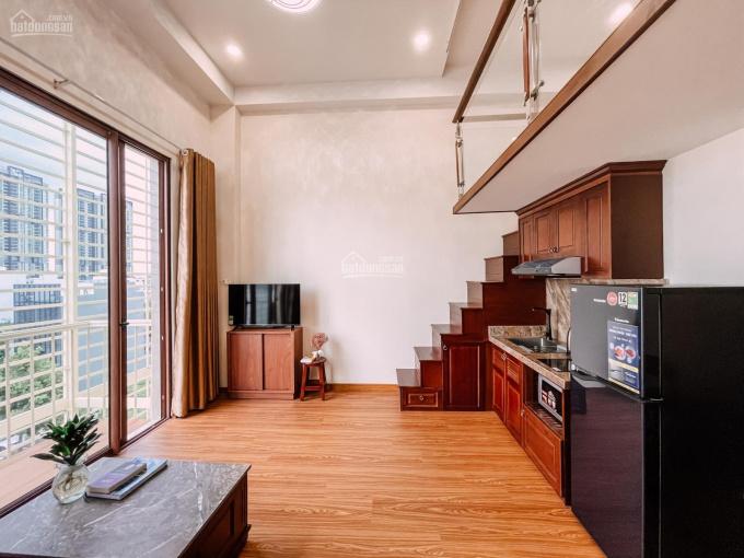 New chính chủ cho thuê Duplex đẹp full nội thất gỗ có ban công, ngay UBND Q2, giá từ 7 triệu/tháng ảnh 0