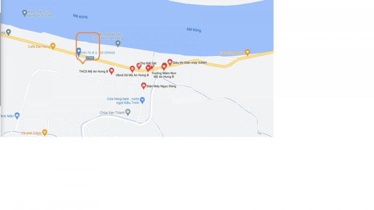 Bán đất ĐT 848, Xã Mỹ An Hưng B, Huyện Lấp Vò, tỉnh Đồng Tháp - 05/2021 ảnh 0