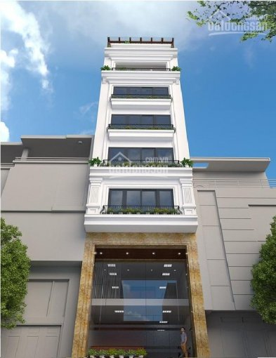 Cực hiếm trung tâm Hà Nội gần Quận Ủy, nhà phố mặt hồ Hoàng Cầu, 45m2x5 tầng, có thang máy 14 tỷ ảnh 0
