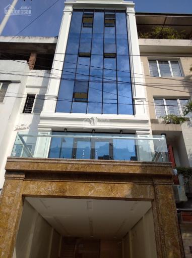 Chính chủ cho thuê nhà MP Trần Quốc Hoàn DT 65m2, 6T MT 7.5m, có vỉa hè rộng, giá 38tr, 0977433269 ảnh 0