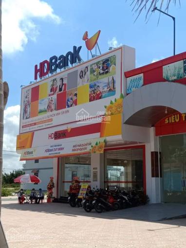 Đất mặt tiền kinh doanh chợ Thạnh Phú, sổ hồng riêng, thổ cư 100% ảnh 0