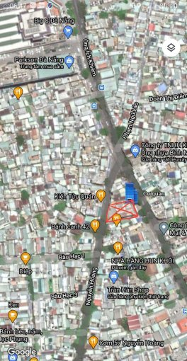 Bán nhà 3 tầng 2 mặt tiền đường Ông Ích Khiêm và Nguyễn Hoàng. Vị trí vàng ảnh 0