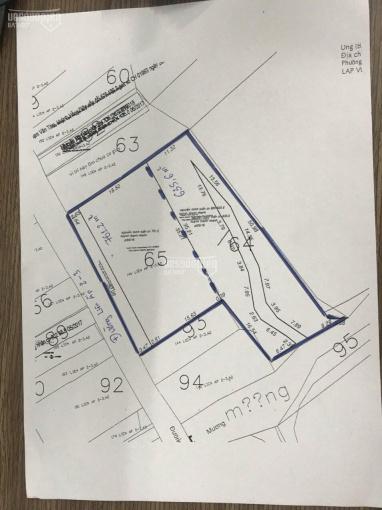 Bán đất đầu tư Hiệp Phước, MT Liên Ấp 2 - 3, DT 1394m2, có 652m2 thổ cư, giá 5,4tr/m2 ảnh 0