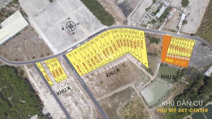 5 lô đất nền trung tâm thị xã Phú Mỹ giá rẻ nhất thị trường - ngân hàng hỗ trợ 65% - đã có sổ ảnh 0