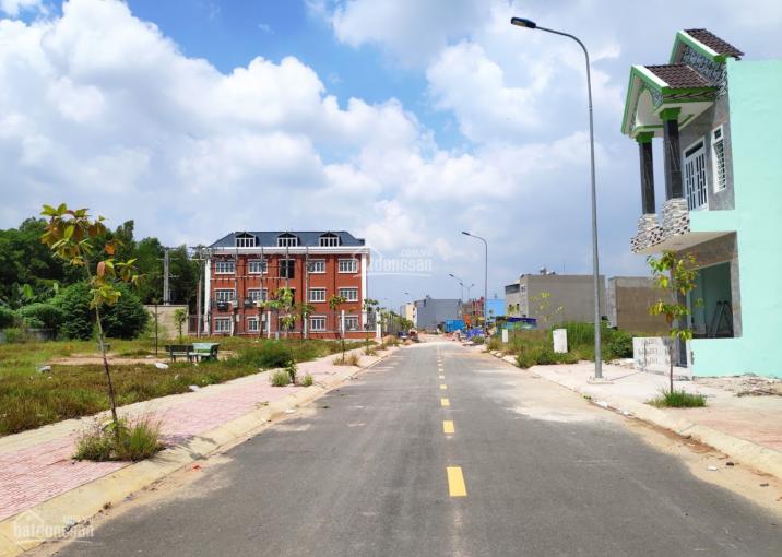 Đất mặt tiền đường Thuận Giao 21, Thuận Giao, Thuận An gần với chợ Thuận An. 90m2 ảnh 0