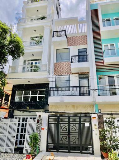 Bán nhà đẹp 4 tầng mặt tiền đường Số 49 nằm giữa Lâm Văn Bền và Mai Văn Vĩnh, Tân Quy Q7. DT: 4x19m ảnh 0