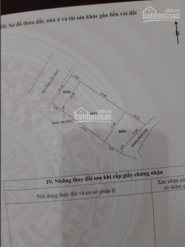 Chính chủ bán mảnh đất tại Cỏ Ông, Huyện Côn Đảo, Bà Rịa Vũng Tàu, DT 637m2 - Giá LH 0904.032.074 ảnh 0