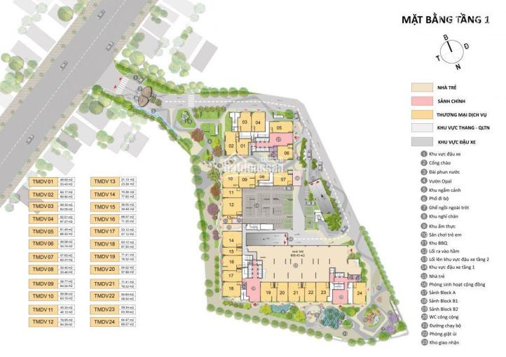 Cần nhượng lại căn hộ 2 phòng ngủ Opal Skyline, giá chủ đầu tư chỉ cần TT 200 triệu, hướng Đông Nam ảnh 0