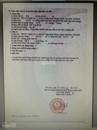 Chính chủ cần bán gấp nhà đất ở Hiệp Bình Phước, TP. Thủ Đức ảnh 0