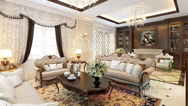 Định cư cần bán gấp biệt thự sân vườn hẻm 10m Trường Chinh, P14, Tân Bình, GPXD: Hầm 10 Tầng ảnh 0