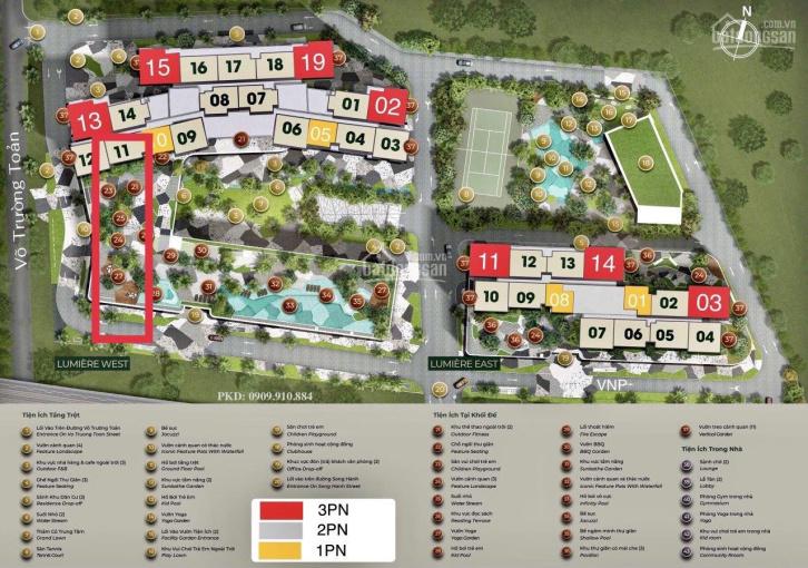 Masteri Lumiere Riverside bán căn 2PN view Xa Lộ Hà Nội Tháp W - Mua đợt 1 bán giá gốc từ CĐT ảnh 0