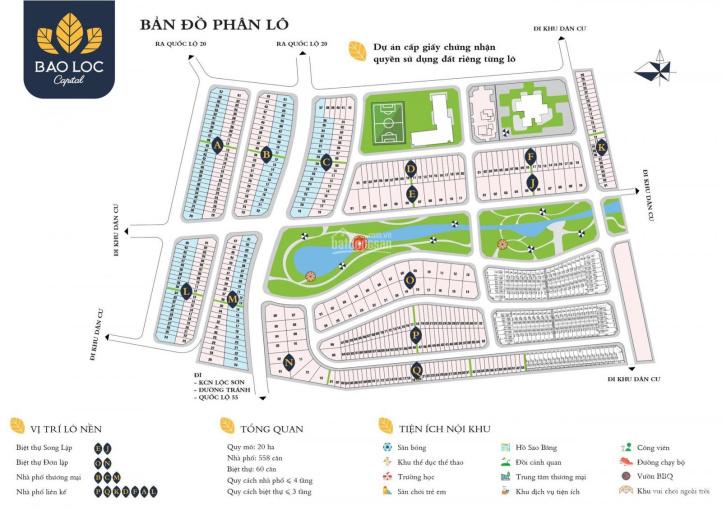 Đất dự án Capital, Lộc Sơn, 5x21m (105m2), full thổ cư, giá 925 tr ảnh 0