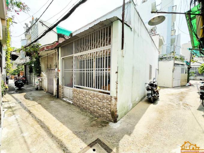 Hot nhà C4 DT 4x10 nở hậu 4,1m hai mặt hẻm xi măng 3m, cách ngã 4 Thống Nhất - Quang Trung chỉ 100m ảnh 0