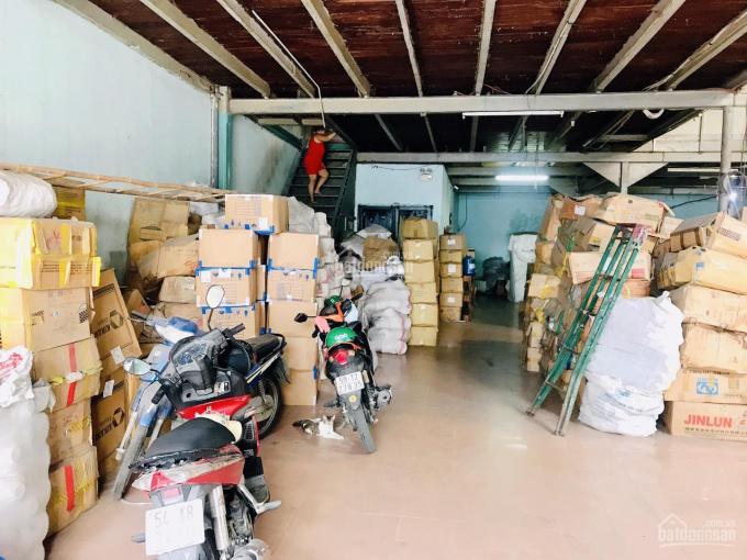 Cho thuê kho - xưởng 500m2 - hẻm 8m Phú Thọ Hòa, khu chợ vải Quận Tân Phú. DT 20x25m, có gác lửng ảnh 0
