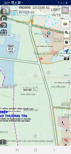 Cc bán đất Ninh Xá, Ninh Sở, Thường Tín, DT 47,5m2 morning đỗ cửa, giá 18tr/m2. LH 0902158563 ảnh 0