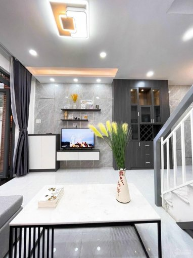Bán nhà mới đẹp full nội thất 1 lầu Quang Trung, P10, Gò Vấp ảnh 0
