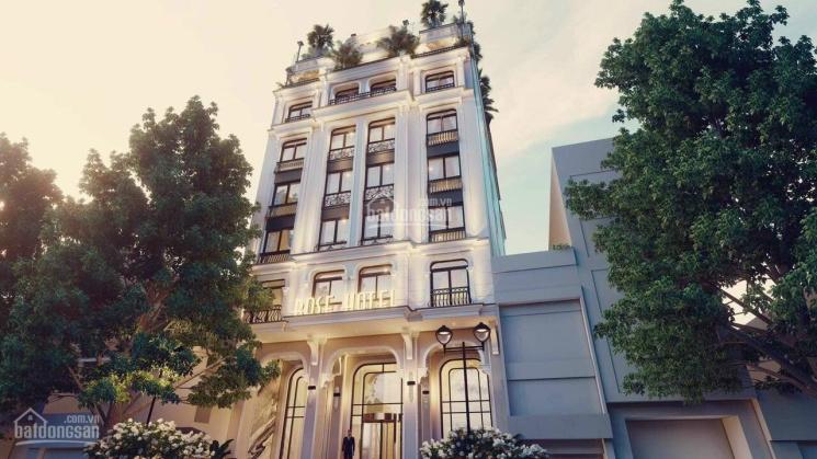 Bán toà khách sạn phố Trần Thái Tông, 150m2, 9 tầng, MT 9m, cho thuê 250tr/tháng. Giá 70 tỷ ảnh 0