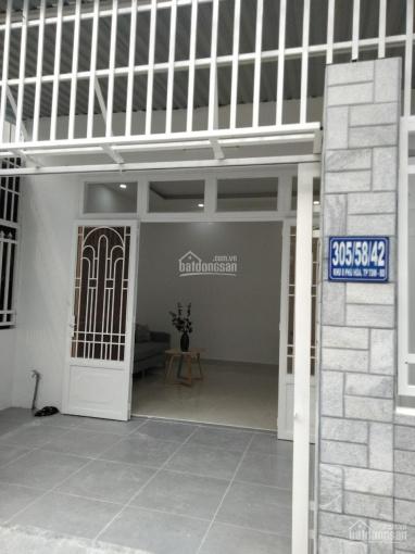 Nhà Phú Hoà hẻm 305 Lê Hồng Phong gần chợ, diện tích 5*16m thổ cư 60m2, đường bê tông 4m thông ảnh 0