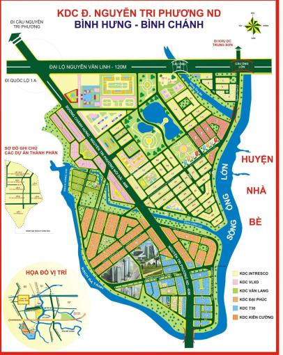 Bán đất dự án 6B T30 đường Phạm Hùng, Bình Chánh ảnh 0