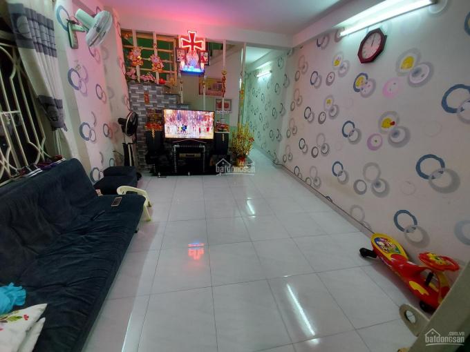 Bán nhà Quận Gò Vấp, đường Tú Mỡ, nhà 49m2, 1 trệt 1 lầu, 3 phòng, tặng kèm nội thất ảnh 0