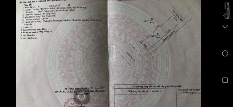 Cặp liền kề đường số 11, khu dân cư Tây đại học, Mỹ Phước, Tp-Long Xuyên, AG ảnh 0