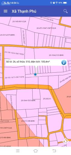 Bán gấp lô đất 105m2, 5x21m sổ riêng thổ cư 100%, giá bán 1,2 tỷ gặp xem đất làm việc trực tiếp chủ ảnh 0