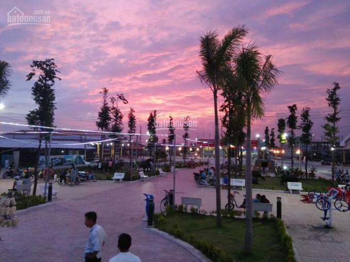 Đất góc 2 mặt tiền siêu thị, kinh doanh chợ Thạnh Phú, DT: 156,3m2 sổ hồng riêng công chứng ngay ảnh 0